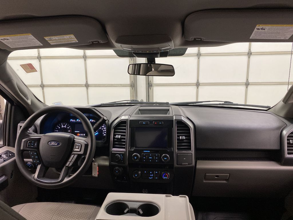 White[Oxford White] 2019 Ford F-150 Strng Wheel/Dash Photo: Frm Rear in Dartmouth NS