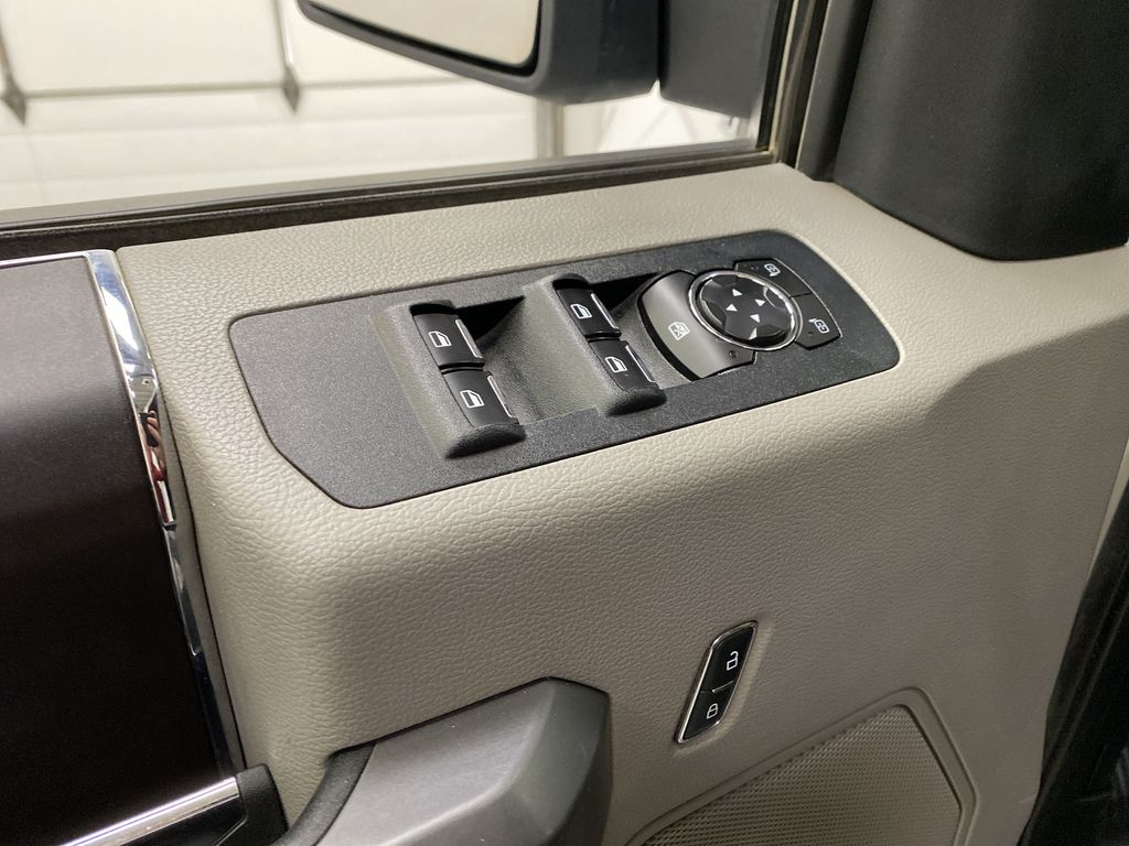White[Oxford White] 2019 Ford F-150  Driver's Side Door Controls Photo in Dartmouth NS