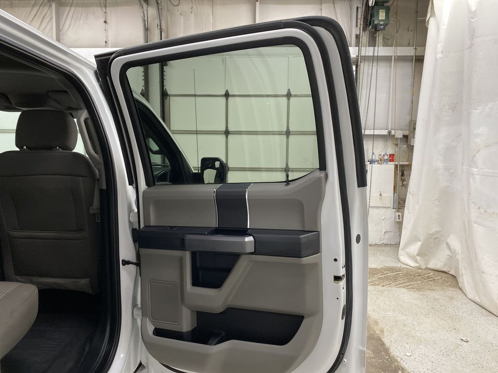 White[Oxford White] 2019 Ford F-150 Right Rear Interior Door Panel Photo in Dartmouth NS