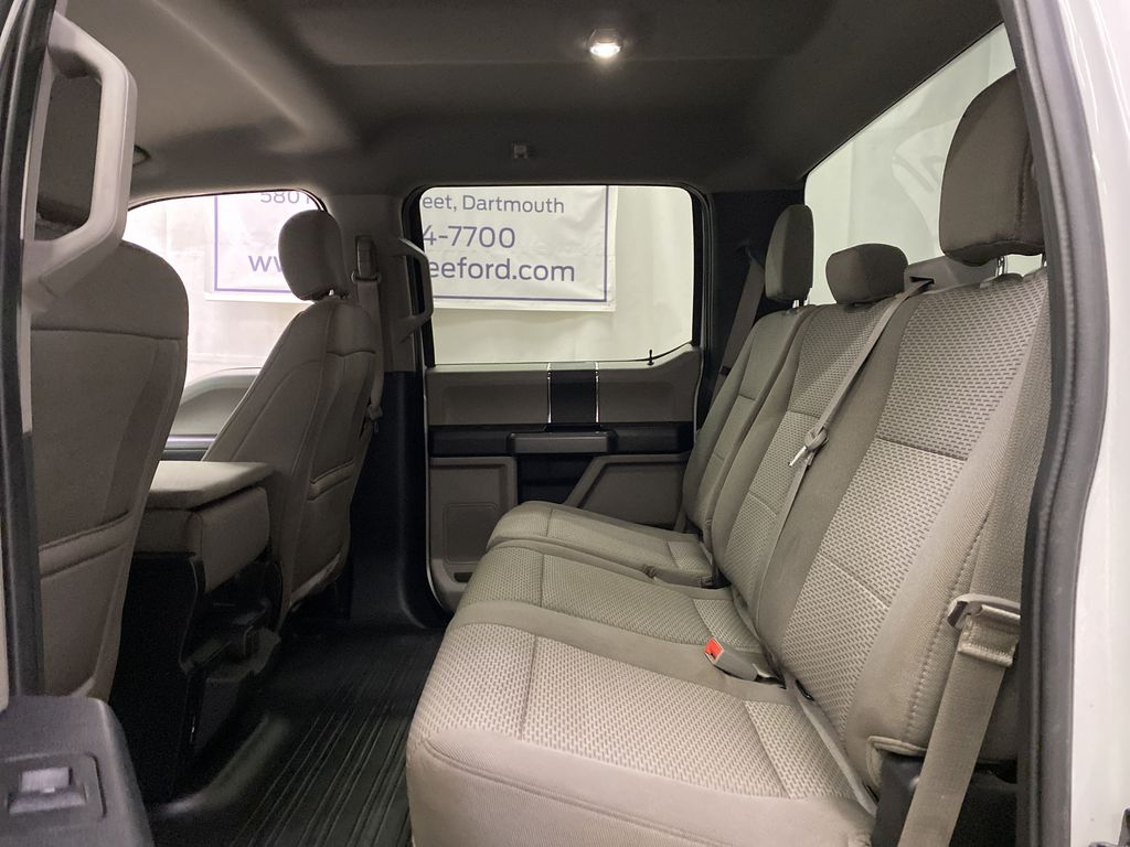 White[Oxford White] 2019 Ford F-150 Left Side Rear Seat  Photo in Dartmouth NS
