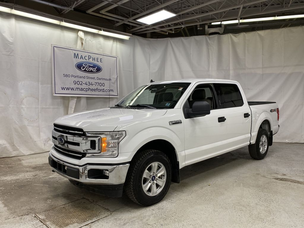 White[Oxford White] 2019 Ford F-150
