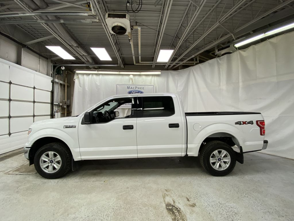 White[Oxford White] 2019 Ford F-150 Left Side Photo in Dartmouth NS