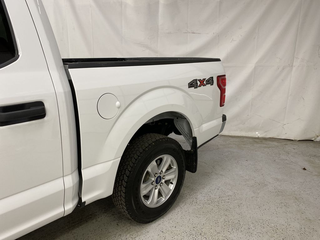 White[Oxford White] 2019 Ford F-150 Left Rear Corner Photo in Dartmouth NS