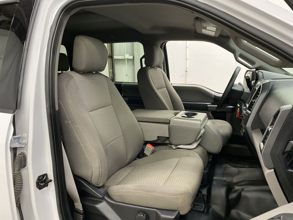 White[Oxford White] 2019 Ford F-150 Right Side Front Seat  Photo in Dartmouth NS