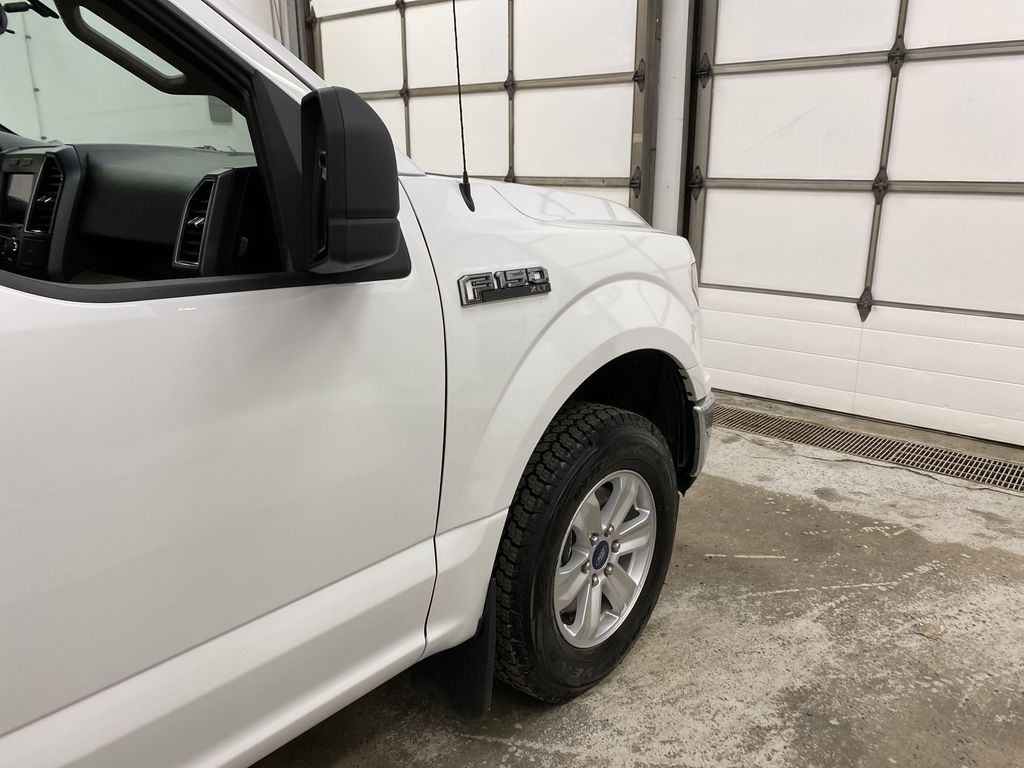White[Oxford White] 2019 Ford F-150 Right Front Corner Photo in Dartmouth NS