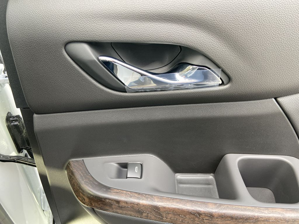 White[White Frost Tricoat] 2021 GMC Acadia Denali Passenger Rear Door Controls Photo in Calgary AB