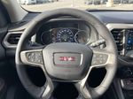 White[White Frost Tricoat] 2021 GMC Acadia Denali Steering Wheel and Dash Photo in Calgary AB