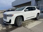 White[White Frost Tricoat] 2021 GMC Acadia Denali Left Front Corner Photo in Calgary AB