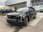 Black[Stellar Black Metallic] 2021 Cadillac XT4 Sport Left Front Head Light / Bumper and Grill in Calgary AB