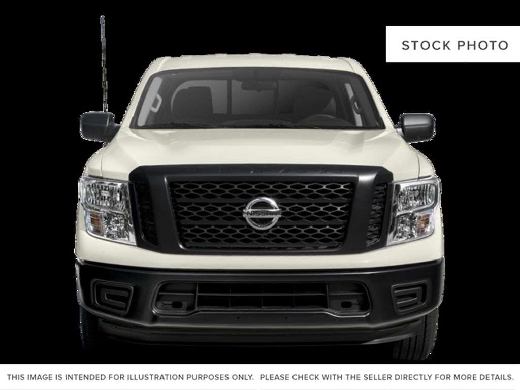 Blue[Deep Blue Pearl] 2017 Nissan Titan Front Vehicle Photo in Cold Lake AB
