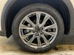 SNOW FLAKE WHITE PEARL(25D) 2021 Mazda CX-5 GT AWD Left Front Rim and Tire Photo in Edmonton AB