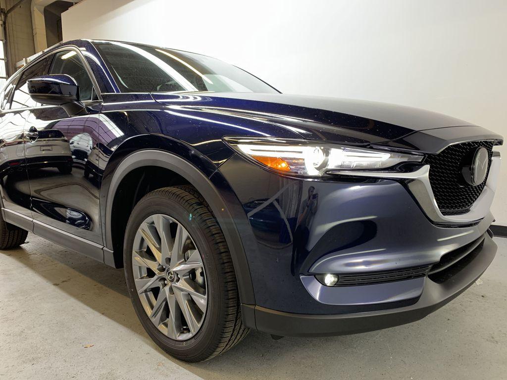 DEEP CRYSTAL BLUE MICA(42M) 2021 Mazda CX-5 GT AWD Right Front Corner Photo in Edmonton AB