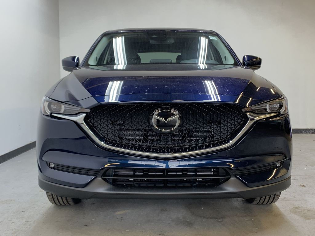 DEEP CRYSTAL BLUE MICA(42M) 2021 Mazda CX-5 GT AWD Front Vehicle Photo in Edmonton AB