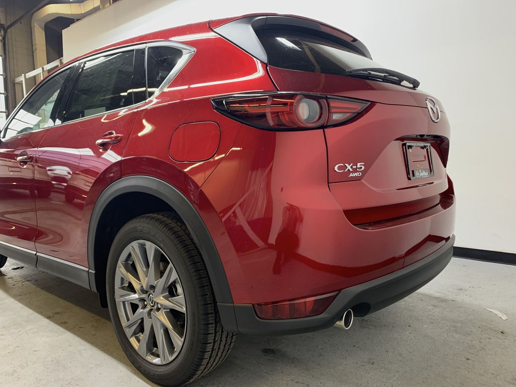 SOUL RED CRYSTAL METALLIC(46V) 2021 Mazda CX-5 GT AWD Left Rear Corner Photo in Edmonton AB