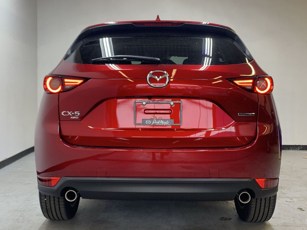 SOUL RED CRYSTAL METALLIC(46V) 2021 Mazda CX-5 GT AWD Rear of Vehicle Photo in Edmonton AB