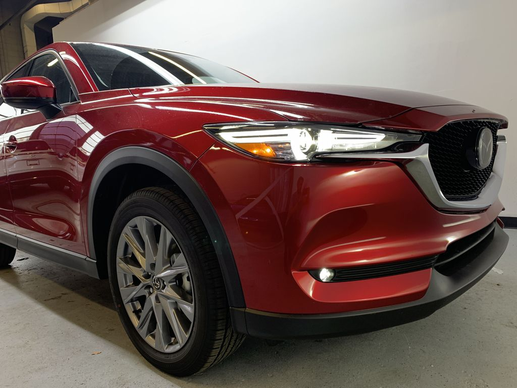 SOUL RED CRYSTAL METALLIC(46V) 2021 Mazda CX-5 GT AWD Right Front Corner Photo in Edmonton AB