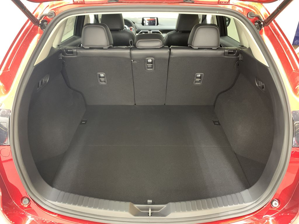 SOUL RED CRYSTAL METALLIC(46V) 2021 Mazda CX-5 GT AWD Trunk / Cargo Area Photo in Edmonton AB