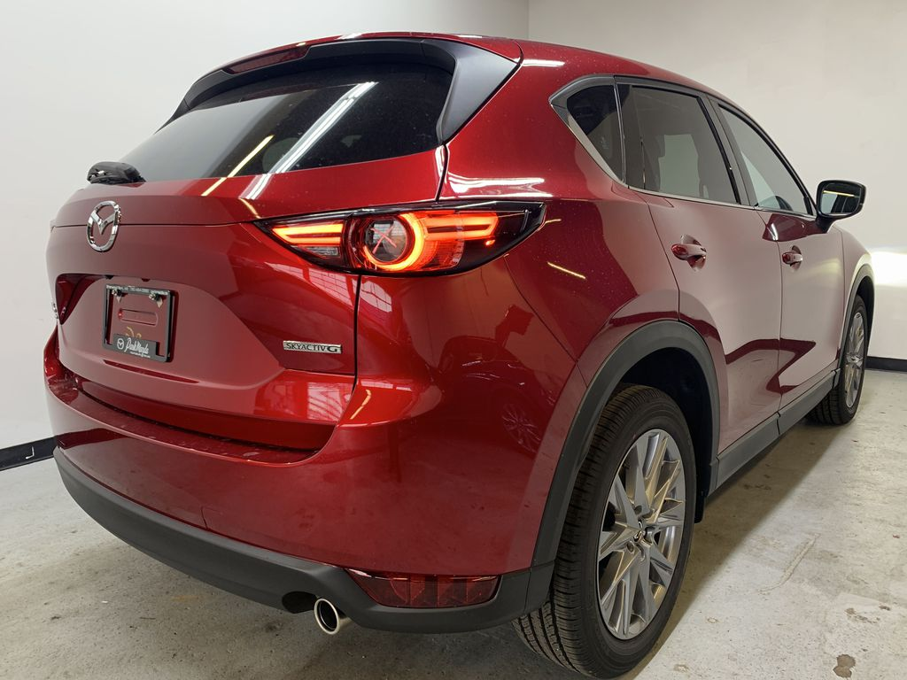 SOUL RED CRYSTAL METALLIC(46V) 2021 Mazda CX-5 GT AWD Right Rear Corner Photo in Edmonton AB