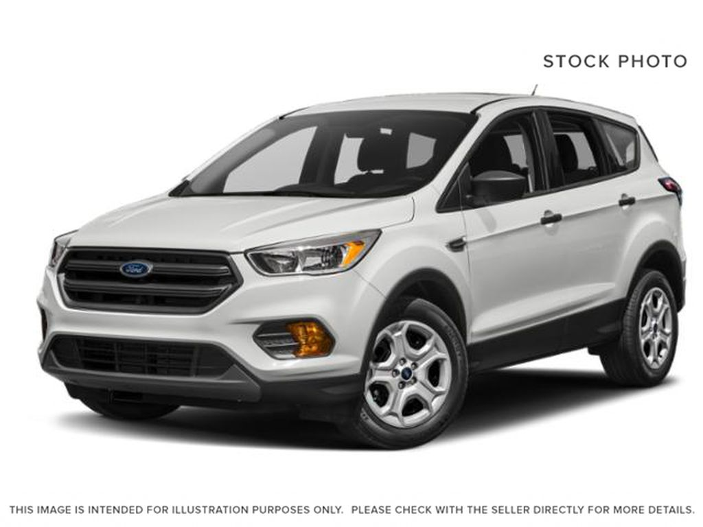 White[Oxford White] 2018 Ford Escape SEL AWD / LOW KMS