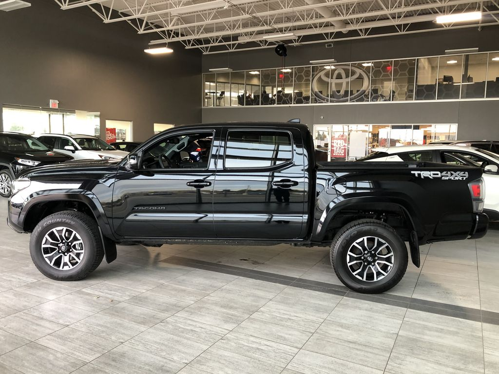 Black 2020 Toyota Tacoma TRD Sport Premium | Toyota Certified Left Side Photo in Edmonton AB
