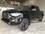 Black 2020 Toyota Tacoma TRD Sport Premium | Toyota Certified Left Side Rear Seat  Photo in Edmonton AB