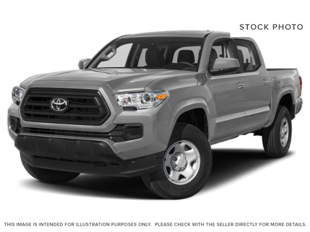 Silver Sky Metallic 2020 Toyota Tacoma 4x4 Double Cab Limited (Short Box)