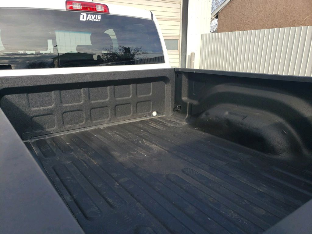 White 2014 Ram 1500 Left Side Rear Seat  Photo in Fort Macleod AB
