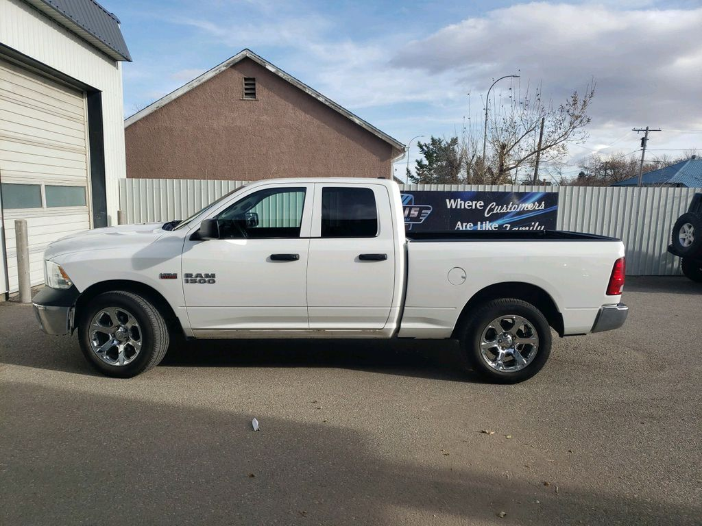 White 2014 Ram 1500 Left Front Interior Door Panel Photo in Fort Macleod AB