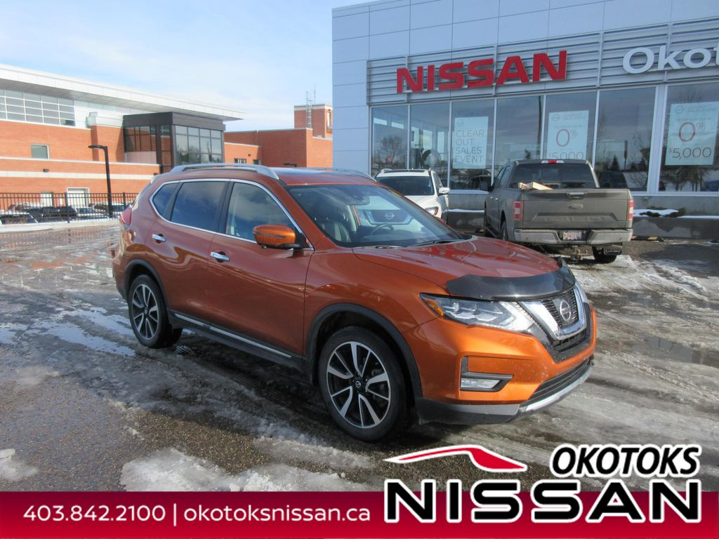 Orange[Monarch Orange Metallic] 2017 Nissan Rogue