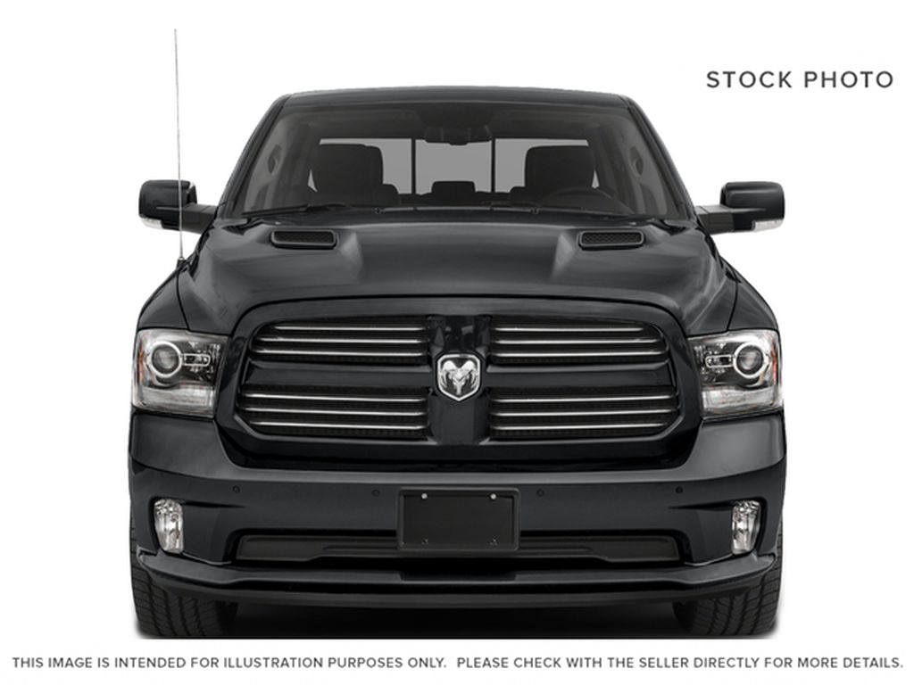 White[Bright White] 2017 Ram 1500 Front Vehicle Photo in Fort Macleod AB