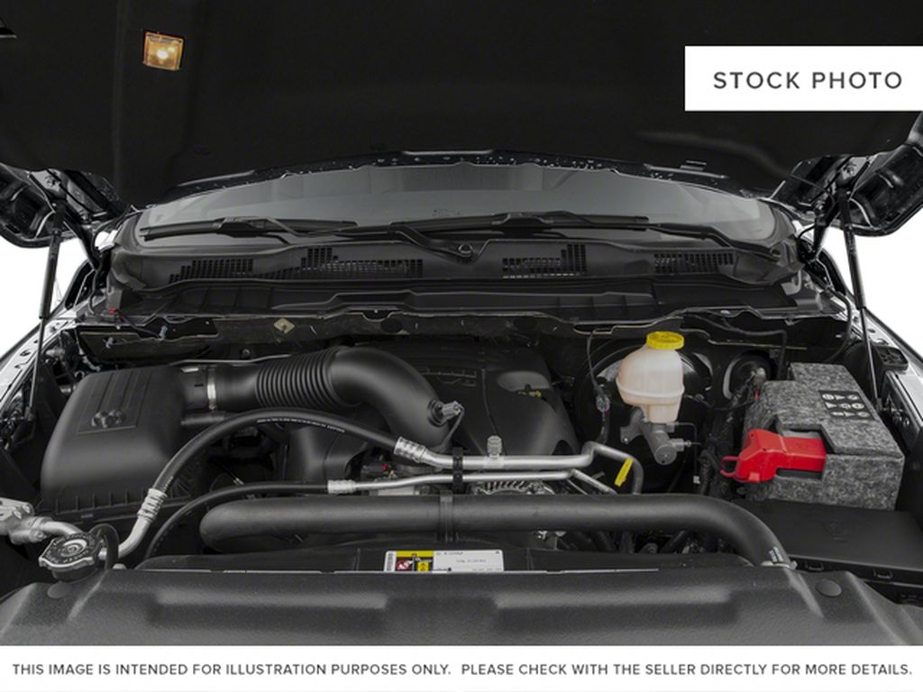 White[Bright White] 2017 Ram 1500 Engine Compartment Photo in Fort Macleod AB