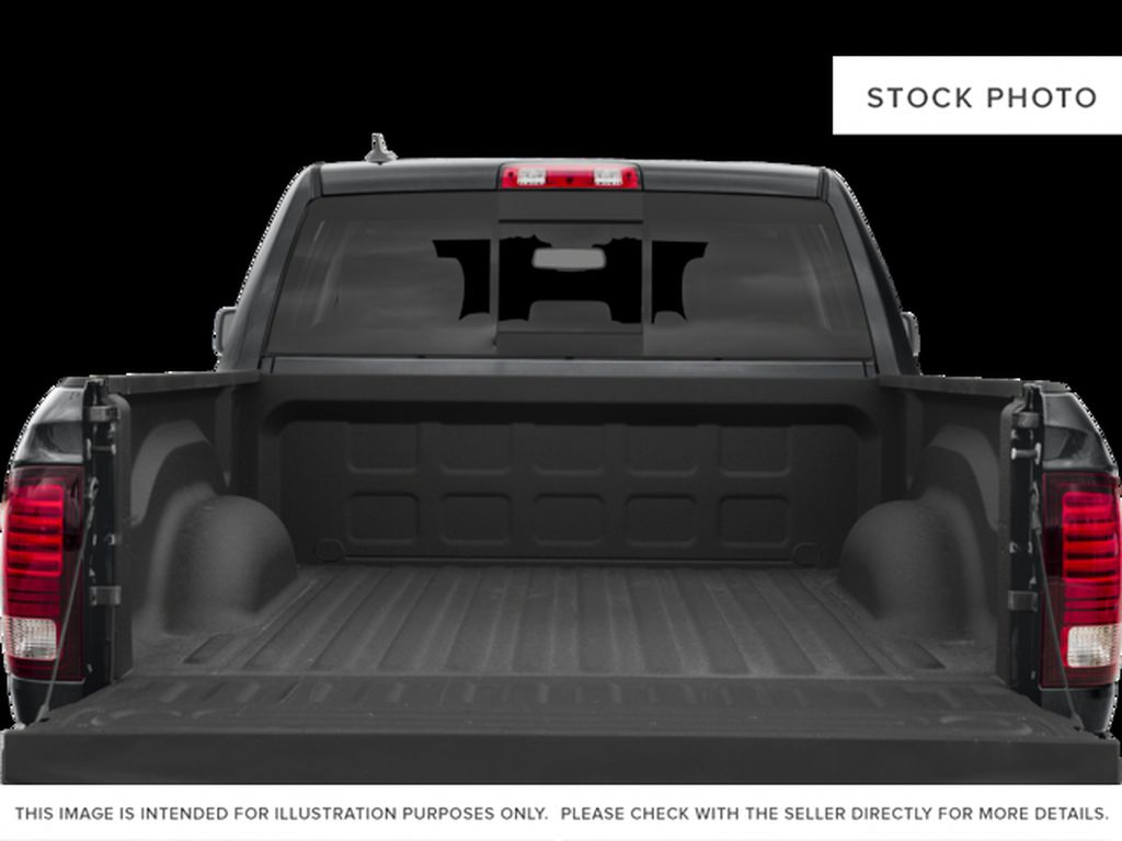 White[Bright White] 2017 Ram 1500 Trunk / Cargo Area Photo in Fort Macleod AB