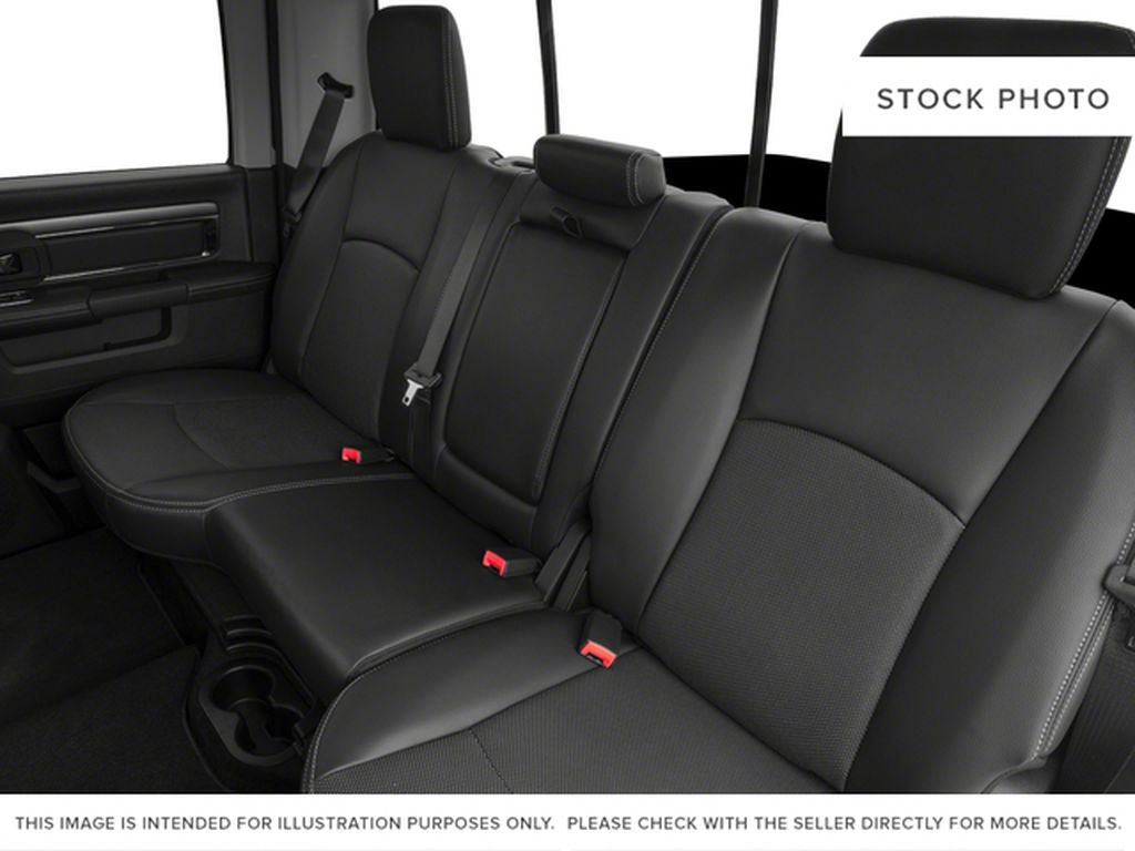 White[Bright White] 2017 Ram 1500 Left Side Rear Seat  Photo in Fort Macleod AB