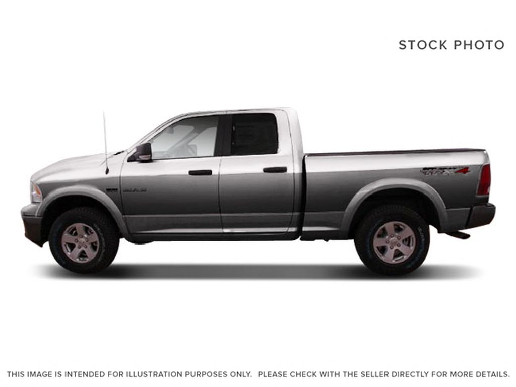 Silver[Bright Silver Metallic] 2009 Dodge Ram 1500 Left Side Photo in Fort Macleod AB
