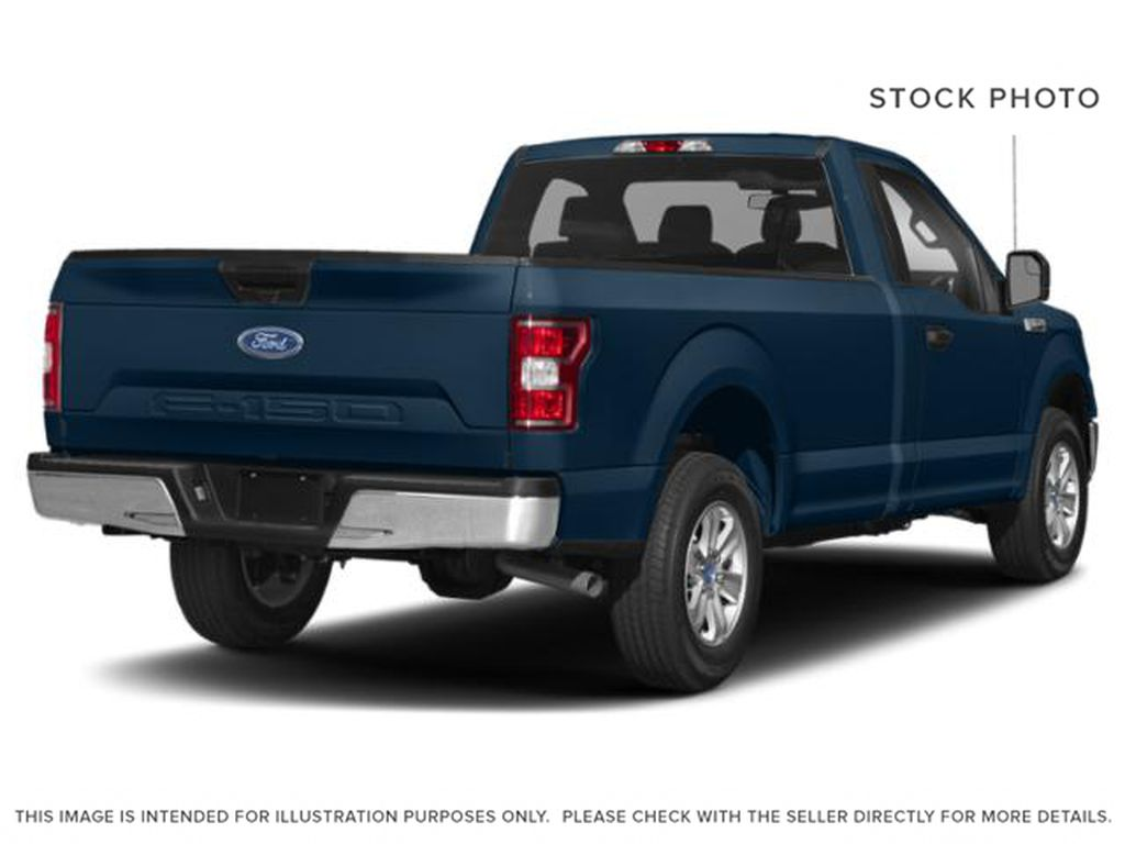 Blue[Blue Jeans Metallic] 2018 Ford F-150 Right Rear Corner Photo in Fort Macleod AB