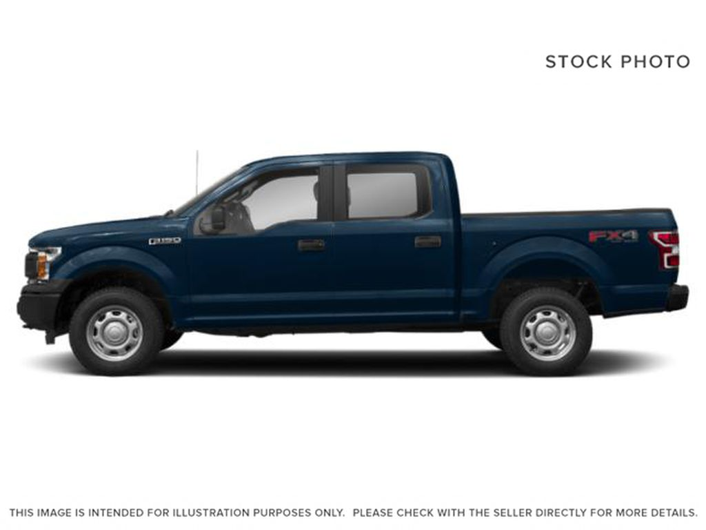 Blue[Blue Jeans Metallic] 2018 Ford F-150 Left Side Photo in Fort Macleod AB