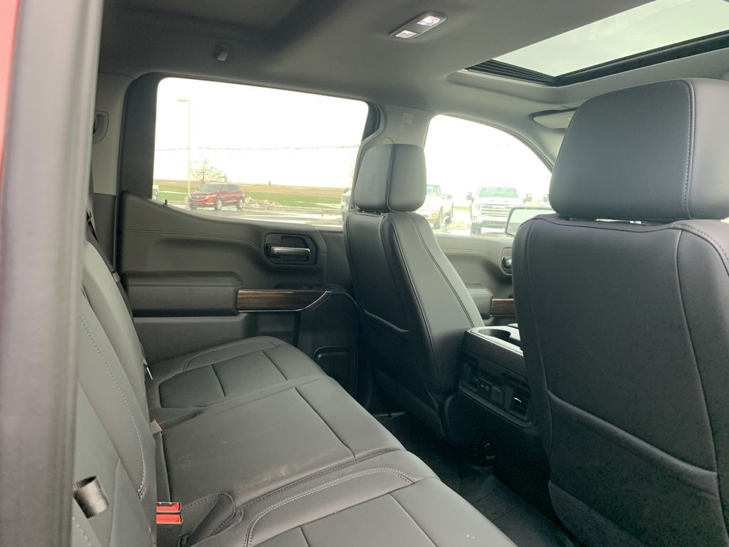 Red[Cajun Red Tintcoat] 2020 Chevrolet Silverado 1500 Left Front Interior Photo in Fort Macleod AB