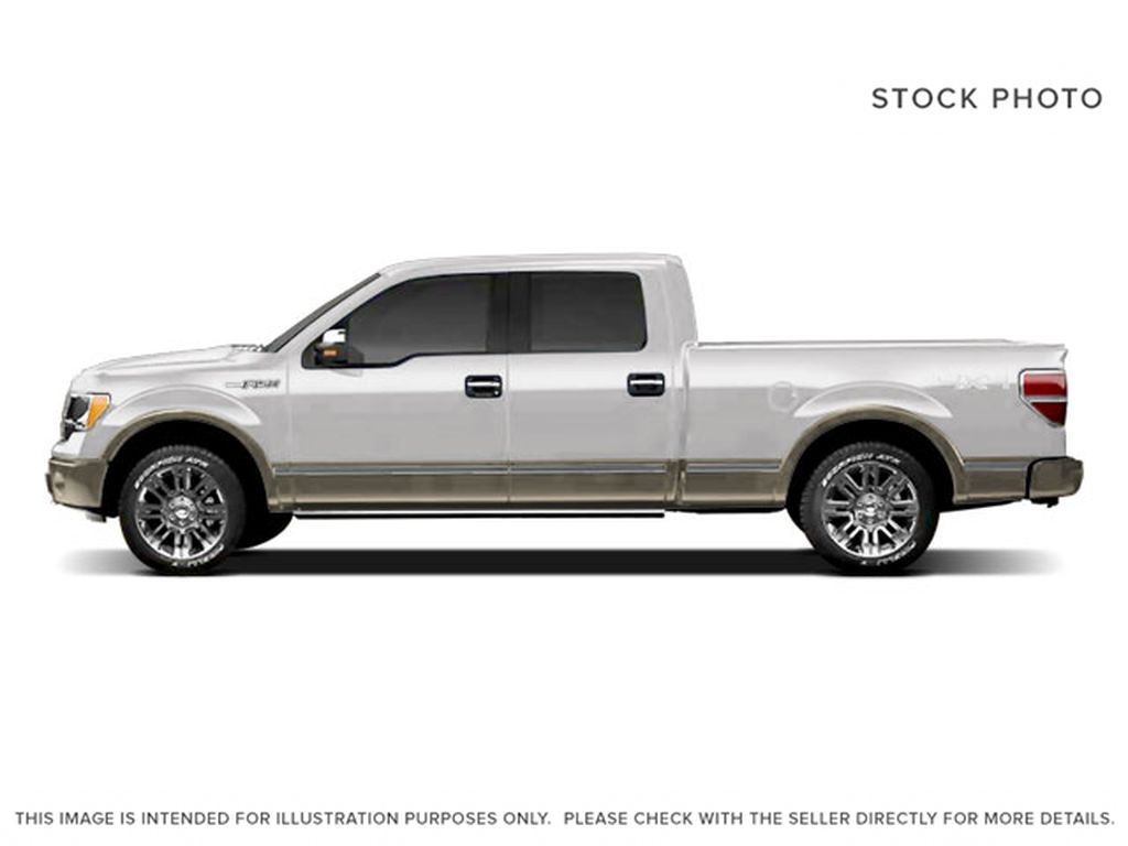 White[Oxford White] 2009 Ford F-150 Left Side Photo in Fort Macleod AB