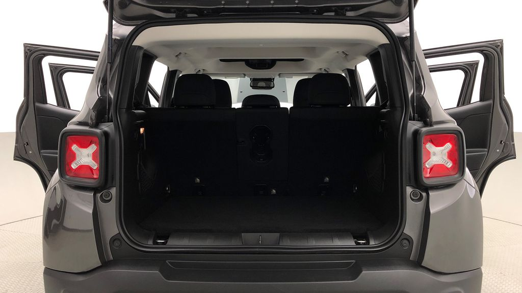 Gray[Granite Crystal Metallic] 2019 Jeep Renegade Trailhawk 4WD - My Sky Open Air Roof System Trunk / Cargo Area Photo in Winnipeg MB
