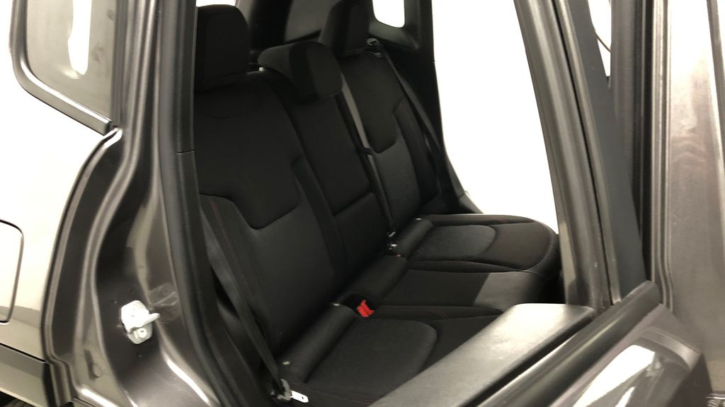 Gray[Granite Crystal Metallic] 2019 Jeep Renegade Trailhawk 4WD - My Sky Open Air Roof System Right Side Rear Seat  Photo in Winnipeg MB