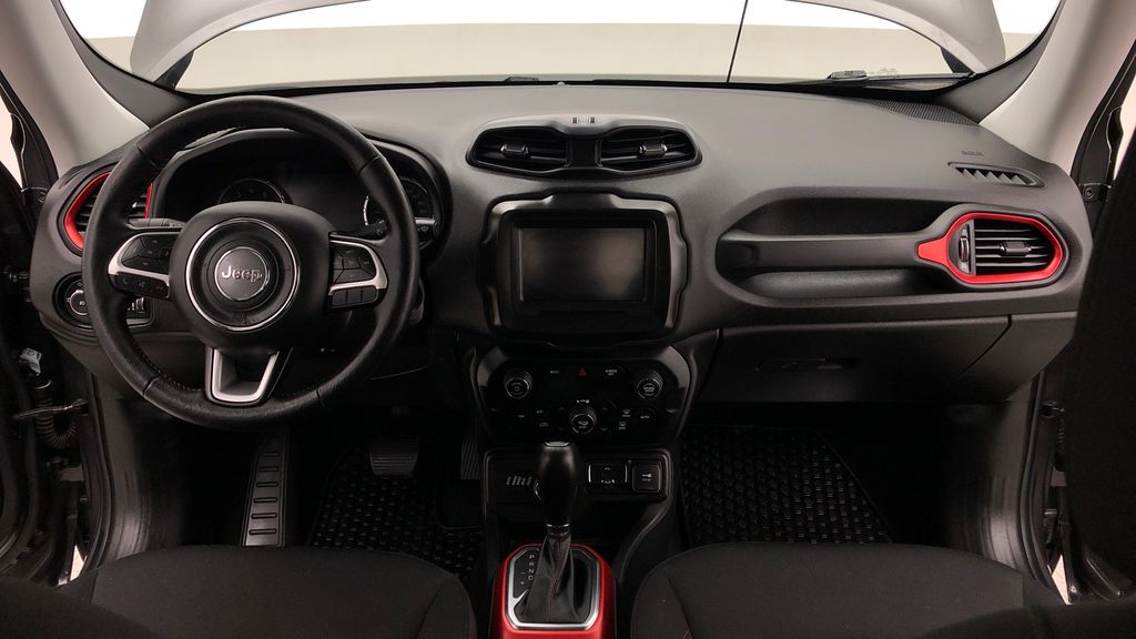 Gray[Granite Crystal Metallic] 2019 Jeep Renegade Trailhawk 4WD - My Sky Open Air Roof System Central Dash Options Photo in Winnipeg MB