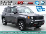 Gray[Granite Crystal Metallic] 2019 Jeep Renegade Trailhawk 4WD - My Sky Open Air Roof System Primary Listing Photo in Winnipeg MB