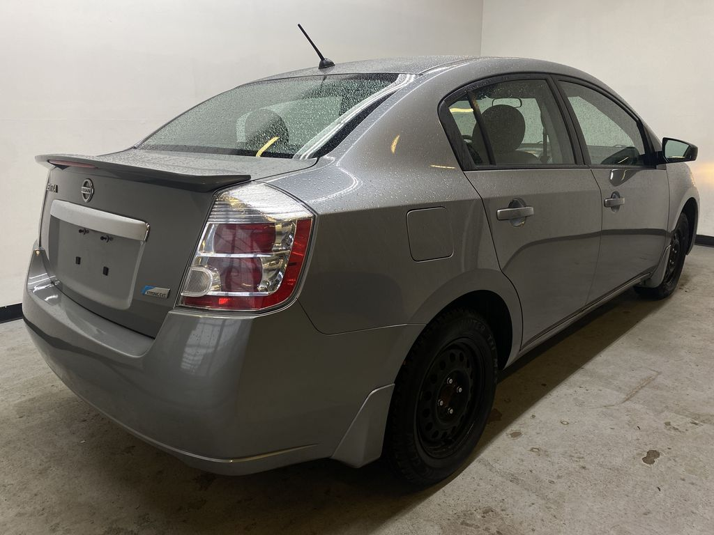 M.GREY 2012 Nissan Sentra 2.0 - Air Conditioning, AM/FM Stereo, CD/AUX Audio Right Rear Corner Photo in Edmonton AB