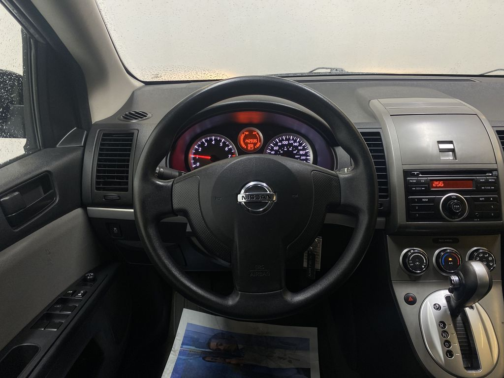 M.GREY 2012 Nissan Sentra 2.0 - Air Conditioning, AM/FM Stereo, CD/AUX Audio Strng Wheel: Frm Rear in Edmonton AB
