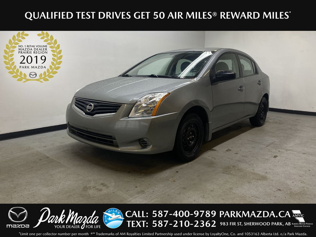 M.GREY 2012 Nissan Sentra 2.0 - Air Conditioning, AM/FM Stereo, CD/AUX Audio