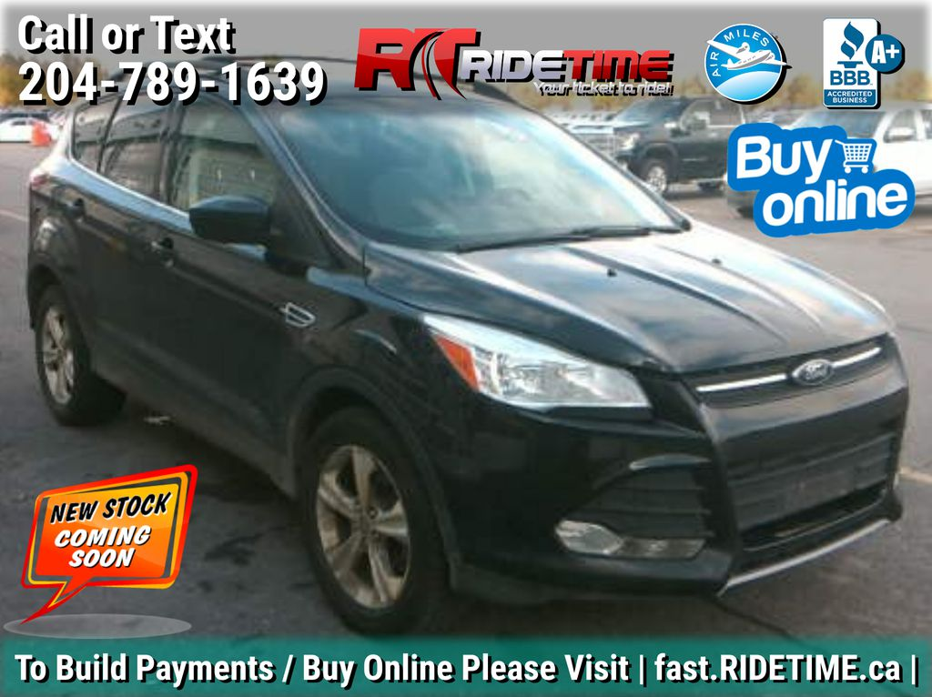 Black[Tuxedo Black] 2015 Ford Escape SE 4WD - Heated Seats, MyFord Touch, Backup Camera
