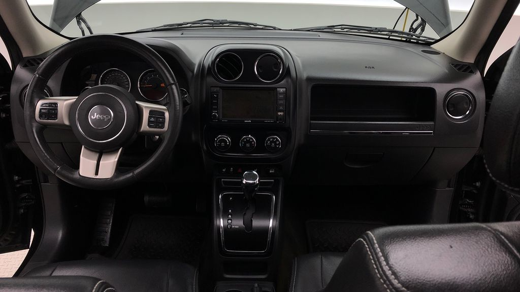Black[Black] 2015 Jeep Patriot Limited 4WD - Leather, Sunroof, Navigation, Bluetooth Central Dash Options Photo in Winnipeg MB