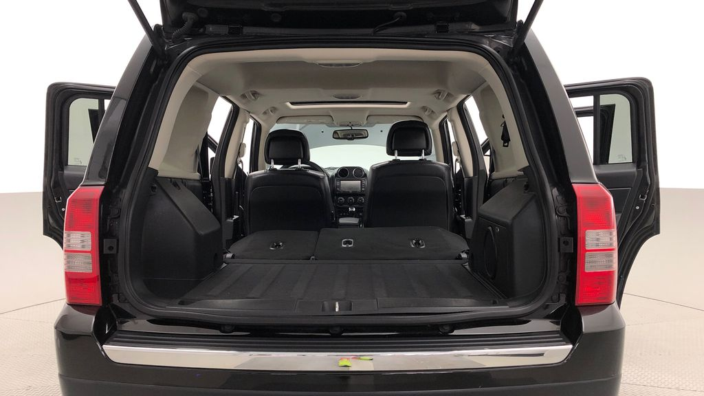 Black[Black] 2015 Jeep Patriot Limited 4WD - Leather, Sunroof, Navigation, Bluetooth Trunk / Cargo Area Photo in Winnipeg MB
