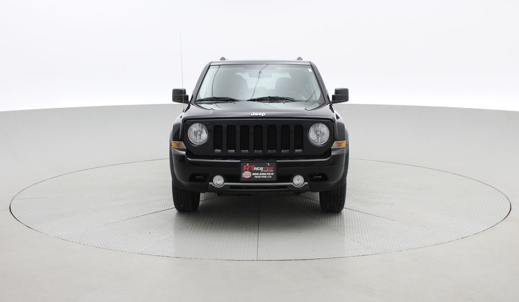 Black[Black] 2015 Jeep Patriot Limited 4WD - Leather, Sunroof, Navigation, Bluetooth Front Vehicle Photo in Winnipeg MB