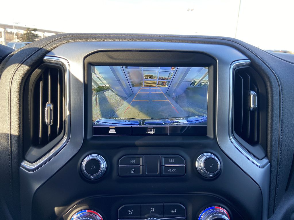 Black[Onyx Black] 2021 GMC Sierra 1500 Elevation Backup Camera Closeup Photo in Calgary AB